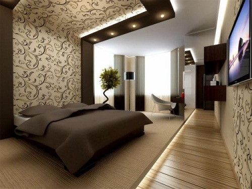 Интерьер жалюзи для комнаты