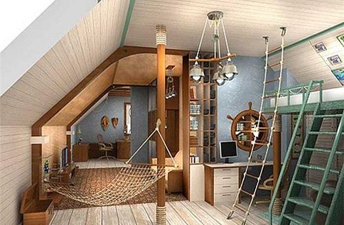 дизайн комната для мальчика подростка фото